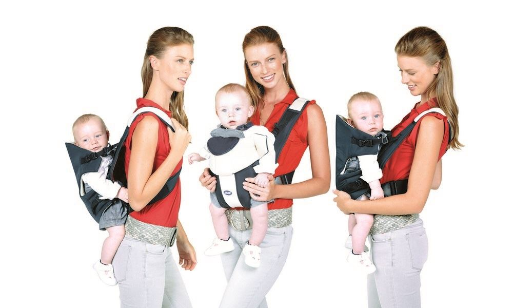 Jane Zaino Dual baby carrier