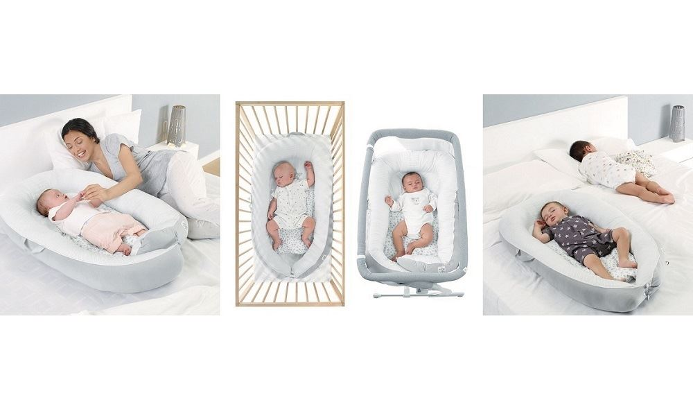 Jané Growing baby nest 2 in 1 culla e riduttore per lettino anti-plagiocefalia