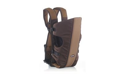 Jane Zaino Dual baby carrier  marrone